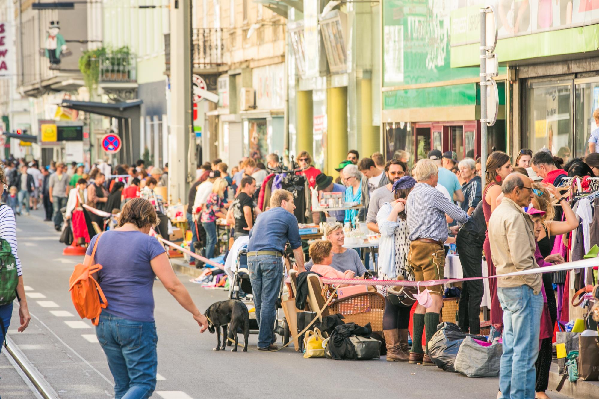 Annenviertel Flohmarkt - Foto ©Lupi Spuma